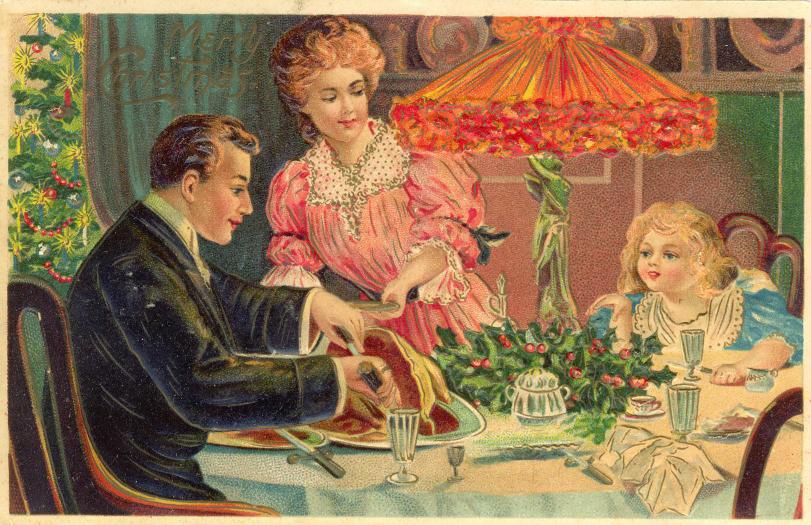 What a Card: Awe-Inspiring Vintage Thanksgiving Cards ...