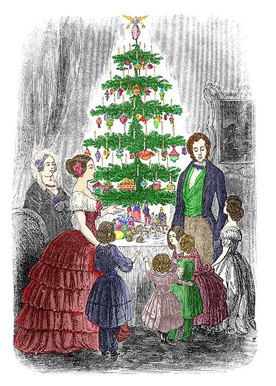 Immagini Natale Vittoriano.Il Natale Vittoriano